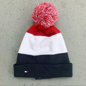 Tommy Hilfiger Men's Pom Beanie Winter Hat NWT